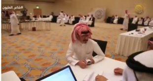 بالفيديو..معنويات عالية للشعراء في اليوم الثاني من جولة الرياض